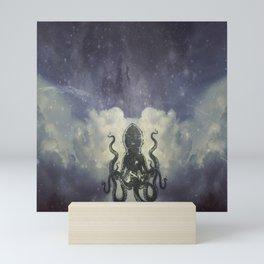 Flying Squid Mini Art Print