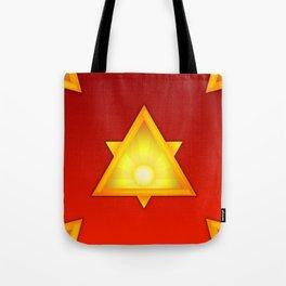 A Golden Dawn Tote Bag