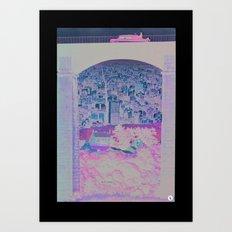 distance apart Art Print