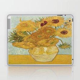Vincent van Gogh's Sunflowers Laptop & iPad Skin