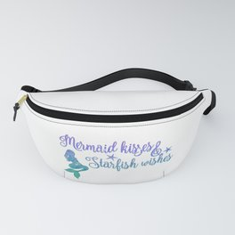 Mermaid Kisses Starfish Wishes Fanny Pack