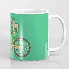Frenchie on a Fixie Mug
