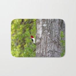 Red-headed Woodpecker Bath Mat