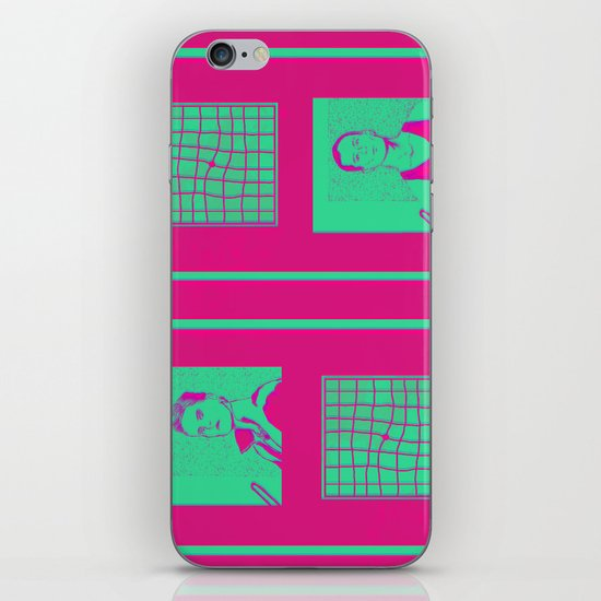 """Shaking the Habitual"" by Virginia McCarthy iPhone & iPod Skin"