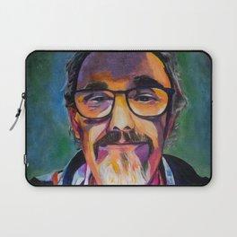 Portrait of the Artist Smirking Laptop Sleeve