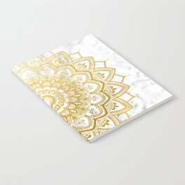 Pleasure Gold Notebook