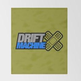 Drift Machine v6 HQvector Throw Blanket