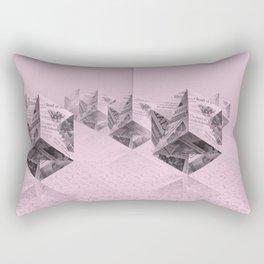 News Cubes 2 Rectangular Pillow