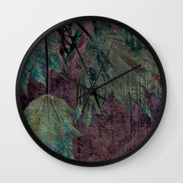 urban maple Wall Clock