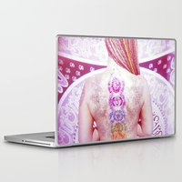 chakra Laptop & iPad Skins featuring Chakra Path by Webe Love