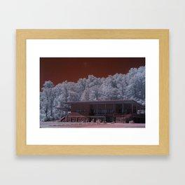 R72: Mars Station #E72 Framed Art Print