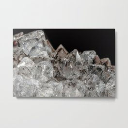 Crystal mountain Landscape Metal Print
