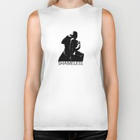 "shameless Biker Tanks featuring Shameless ""Dirty Dancing"" by trenchcoatandimpala"