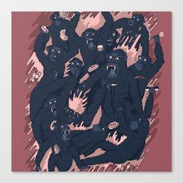 Ape Craze Canvas Print