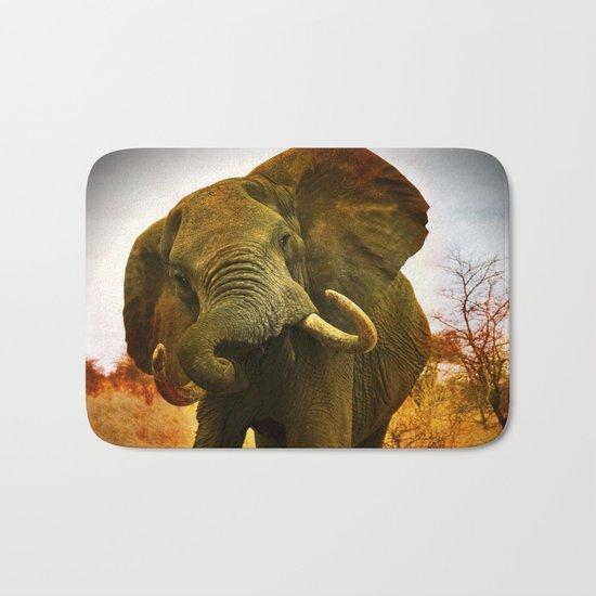 Mad Elephant Bath Mat