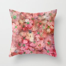 Spring is in the Air 6 Throw Pillow
