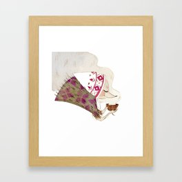 Gran Hedgie Framed Art Print