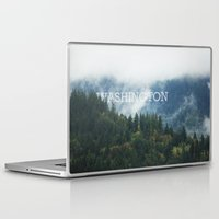washington Laptop & iPad Skins featuring WASHINGTON by shannonfinnphotography