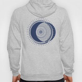 Moon Mandala (Dark Blue) Hoody