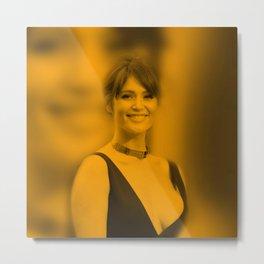 Gemma Arterton - Celebrity Metal Print