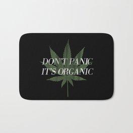Don't Panic it's Organic Vintage Potleaf Print Bath Mat