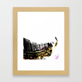 Unnamed Places// Framed Art Print