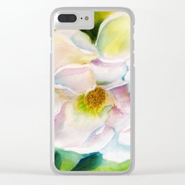 Cherokee Rose Clear iPhone Case