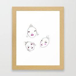 Semblance Framed Art Print