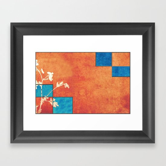 Echoes of Autumn Whispers of Spring Framed Art Print