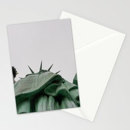A Lady in green - NYC Stationery Cards