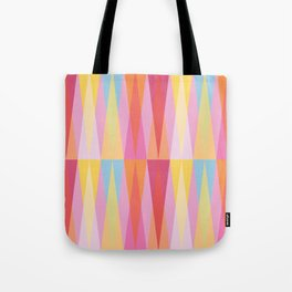 Party Argyle on Pink Tote Bag