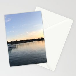 Barely a ripple Stationery Cards