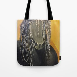 Yellow Horse Tote Bag