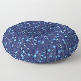 Vine Lines 2 Floor Pillow
