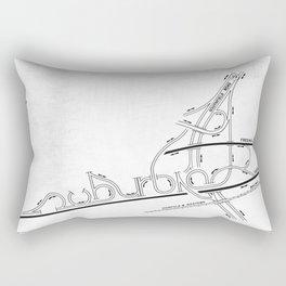 Suburbia Rectangular Pillow
