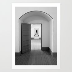 Through The Doors Art Print