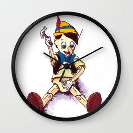 Am I a real boy yet? Wall Clock