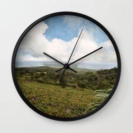 Ometepe Island Wall Clock