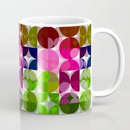 Rosas Moradas 1 Abstract Circles 3 Coffee Mug
