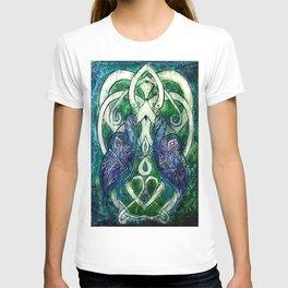 Celtic Peacocks T-shirt