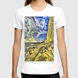 Birling Gap And Seven Sisters Van Goth T-shirt