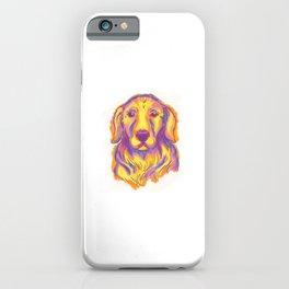 Golden Retriever Hunde Design für einen Hundehalter  iPhone Case