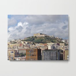 Castle Saint Elmo Metal Print