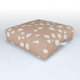 PEACH PEBBLES Outdoor Floor Cushion