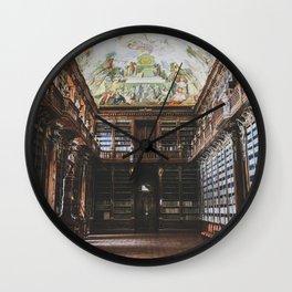 Strahov Library Wall Clock