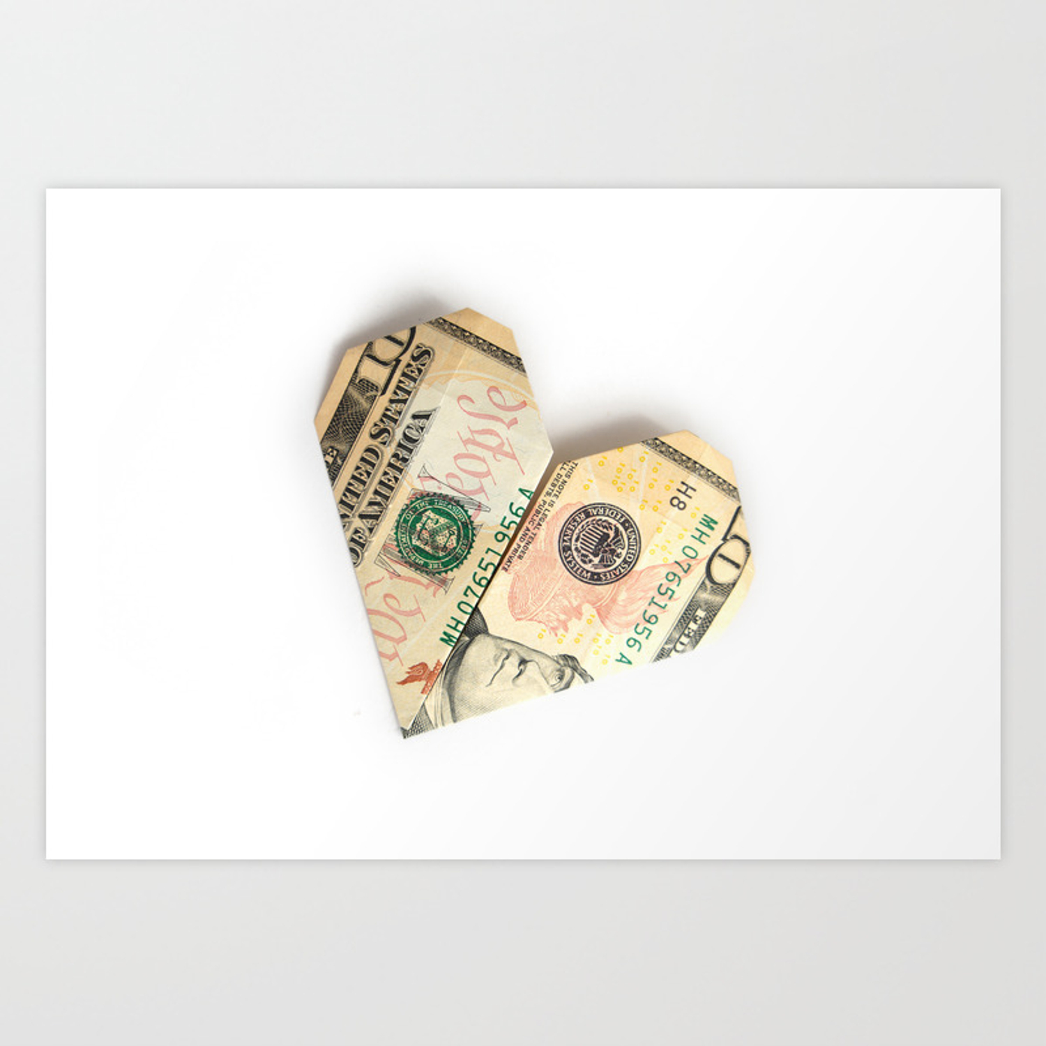 How to Make an Origami Heart From a Dollar - Snapguide   1500x1500