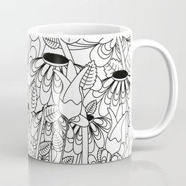 Daisy Floral Pattern 6 Coffee Mug