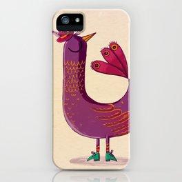 Saffron Bird iPhone Case