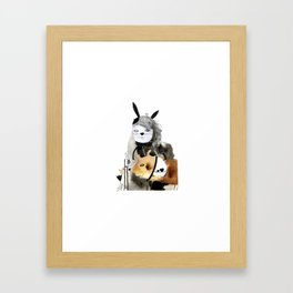 Saturday Framed Art Print