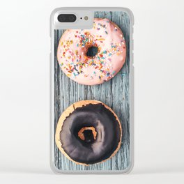 six Clear iPhone Case